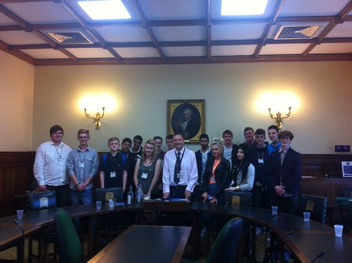 Kirklees College in Parliament