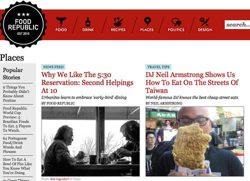 Food Republic - Travel Journal