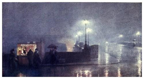 007-Paseo maritimo de Chelsea-A Japanese artist in London (1910)- Yoshio Markino
