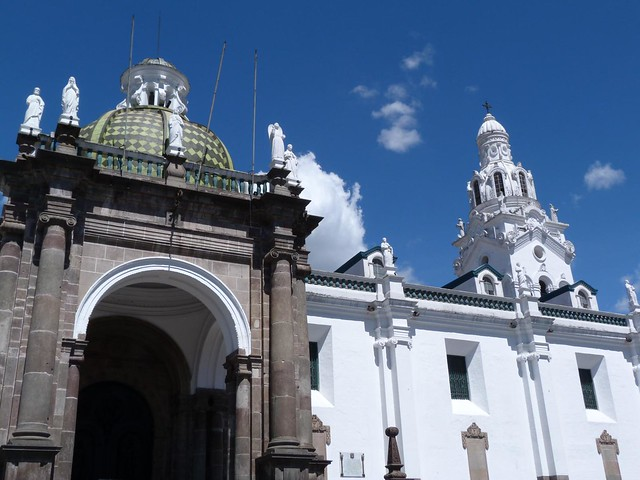 Catedral metropolitana de Quito (Ecuador)