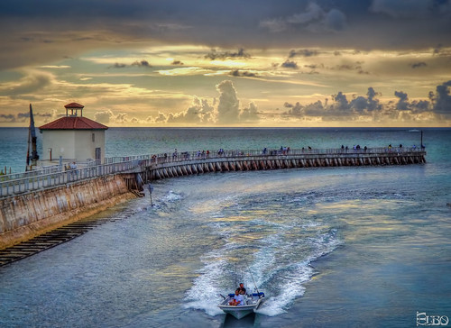 beach clouds sunrise boat fishing fishermen florida cloudy cut jetty stormy inlet hdr boyntonbeach photomatix topazlabssoftware topazplugins