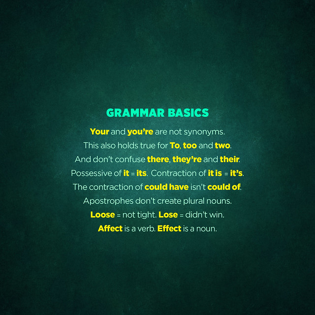 Grammar Basics (lock) from Flickr via Wylio