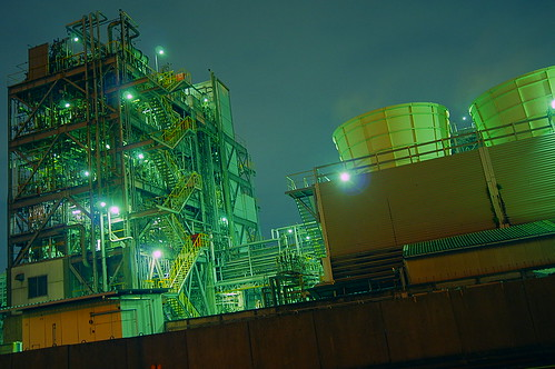 Nightscape at Kawasaki Industrial Zone 25