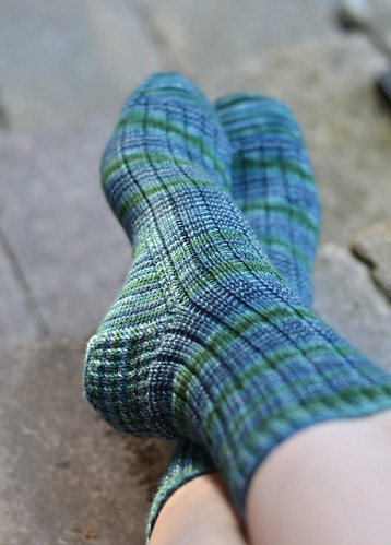 Ms Larock Ribbed Sock