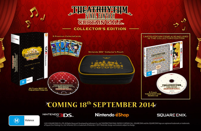 Final Fantasy Theatrhythm Curtain Call Collector's Edition Aus
