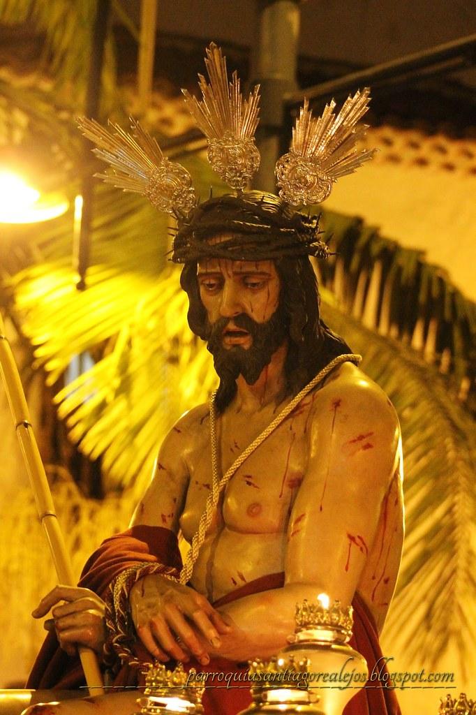 Ecce Homo o Cristo de la Cañita, parroquia de Santiago de Realejo Alto, Tenerife