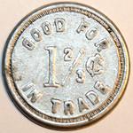Trade Token 1 2-3 cents