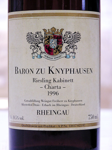 Baron zu Knyphausen 1996 Charta Riesling Kabinett