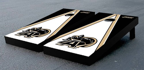 Army Black Knights Cornhole Game Set Triangle