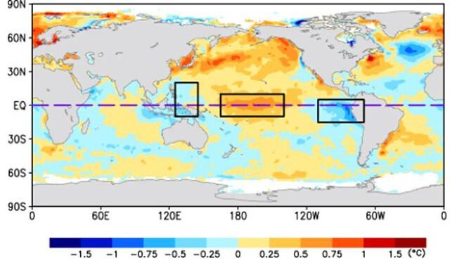 Modoki El Nino Example Map