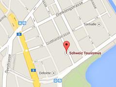 Zobrazit Switzerland Tourism na mapě