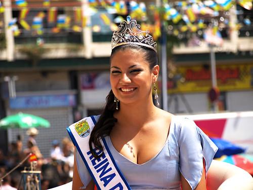 Fiesta Queen, July Fiestas, Puerto de la Cruz, Tenerife
