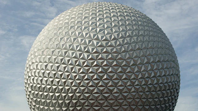 Spaceship Earth. Epcot. Walt Disney World Resort.
