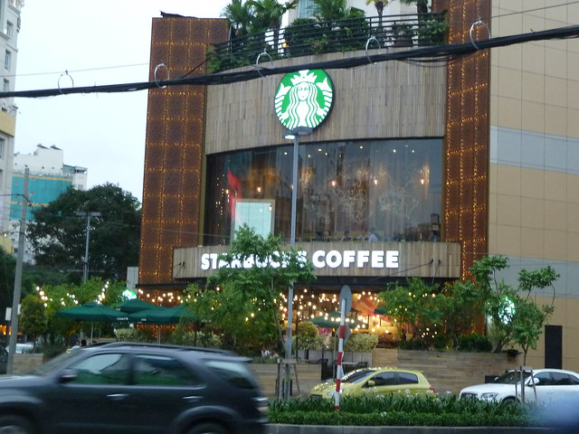 Starbucks, Saigon