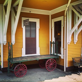 Conway Scenic Railroad #NorthConway #newhampshire #railroad #summer