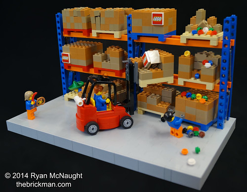 LEGO Warehouse