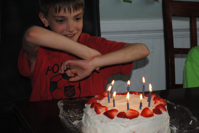 Eli's 9th birthday
