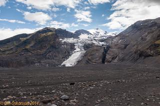 Gígjökull / Eyjafjallajökull