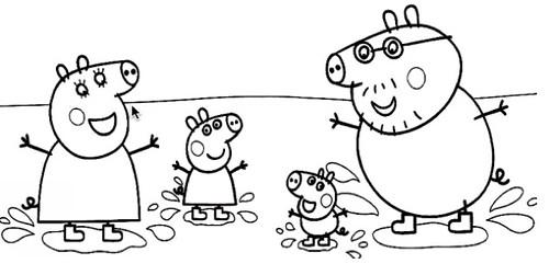 desenho-peppa-pig-3_ original Desenhos do Peppa Pig para colorir pintar  imprimir, desenhos peppa pig, pintar, colorir, imprimir,