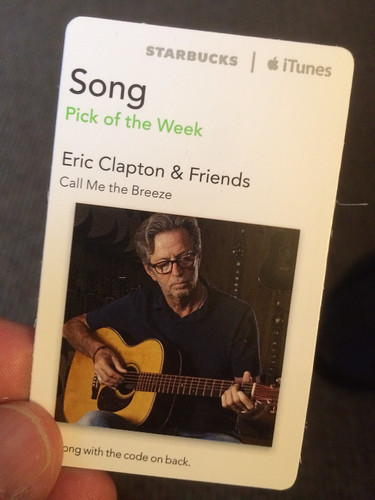 Starbucks iTunes Pick of the Week - Eric Clapton & Friends - Call Me the Breeze