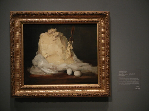 DSCN1822 _ Mound of Butter, 1875/1885, Antoine Vollon, National Gallery of Art at Legion of Honor