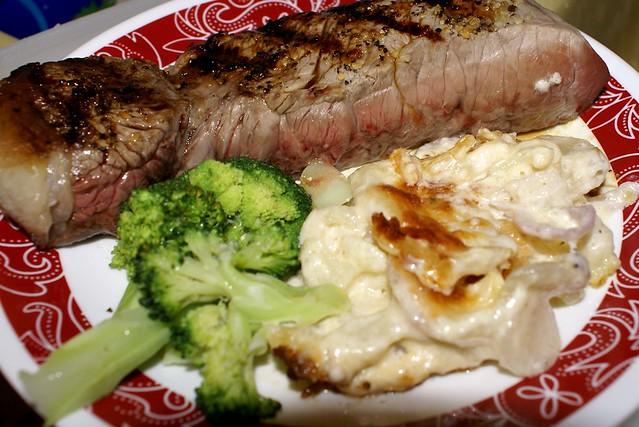 Turnips and Cauliflower Gratin