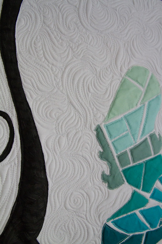 Sea Glass Mermaid Quilt