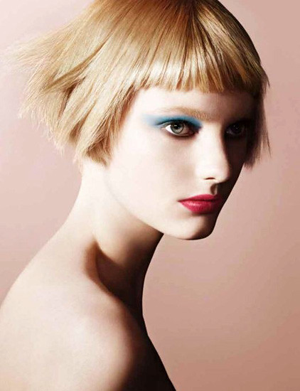 Armani-Spring-2013-Pop-Makeup-Collection-Model