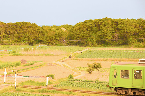 railroad japan train canon railway nostalgia 風景 千葉 鉄道 localline 銚子電鉄