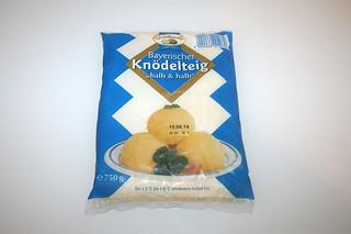 15 - Zutat Kloßteig / Ingredient dumping dough