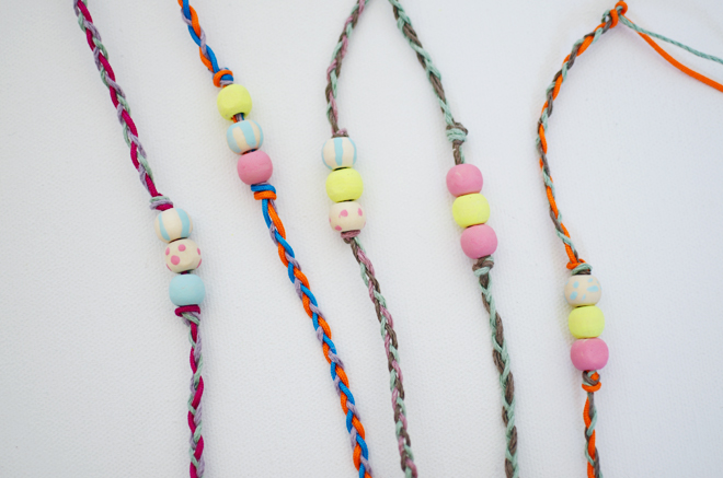 bead & braided friendship bracelet