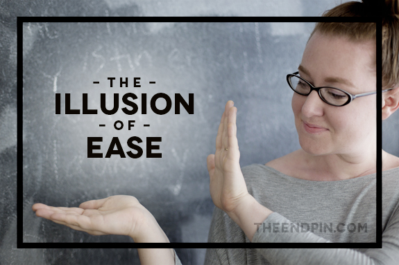 Illusion of Ease Title
