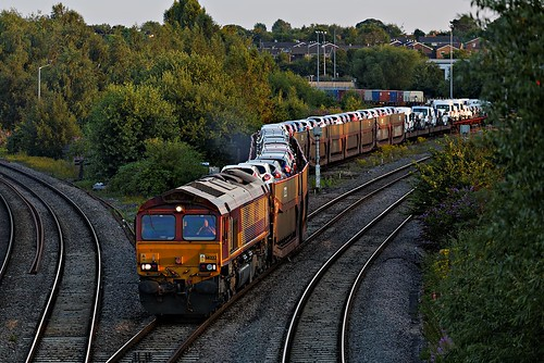 shed didcot dbs 66232 dbschenker 6x65 didcotnorthjunction 2128didcotmossend
