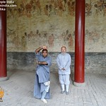 Lohan Hall in the Shaolin Temple China