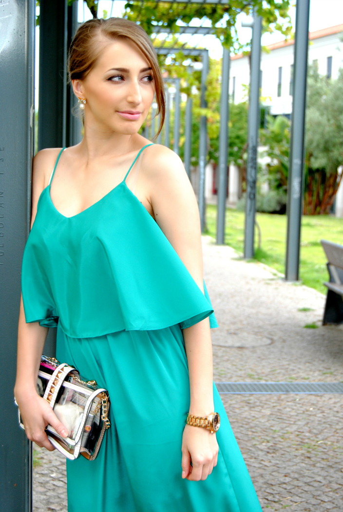 Turquoise Dress (1)
