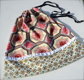 Ginger Blossom Laundry Bag