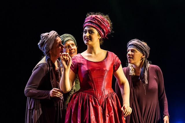 Anush Hovhannisyan as Inès in the JPYA Summer Performance © ROH / Clive Barda 2014
