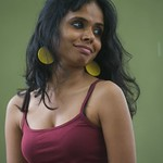 Meena Kandasamy photocall at the Edinburgh International Book Festival |
