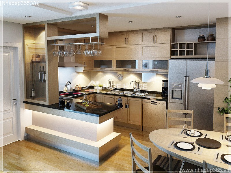 Thiết kế nội thất căn hộ nhà cô Hằng - HN_04