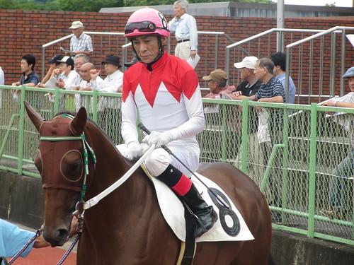 佐賀競馬場の山口勲騎手