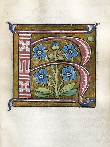007-Leaf from Alphabet Book- The Art Walters Museum