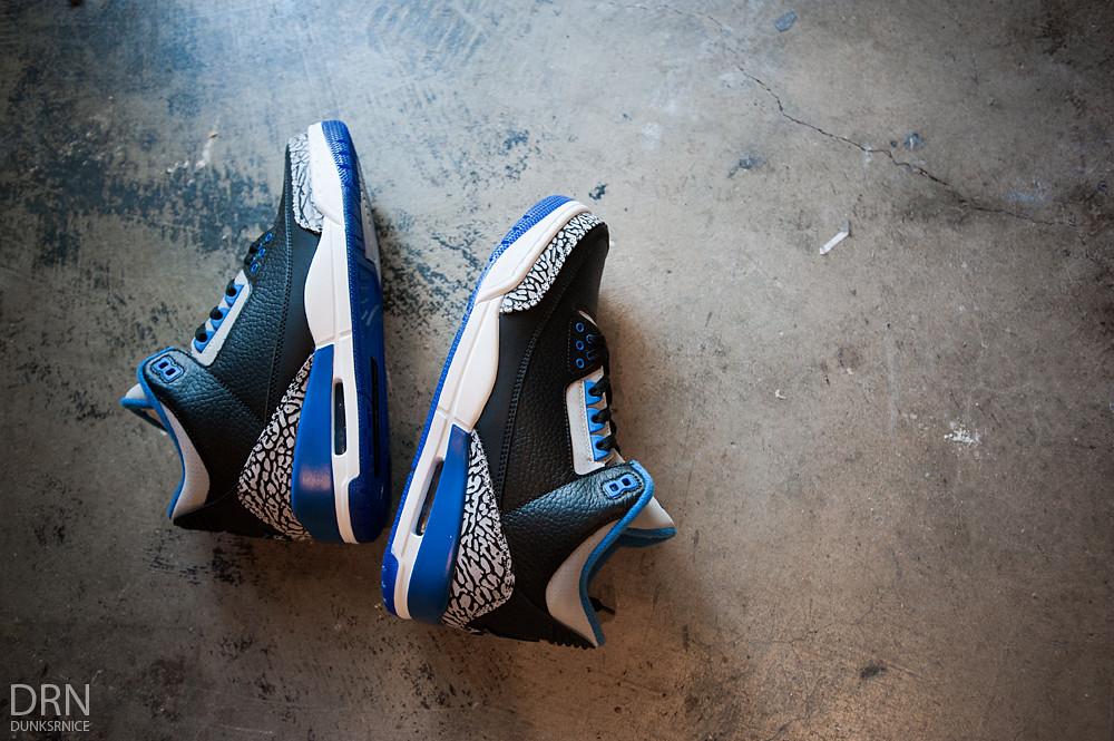 Sport Blue III's.