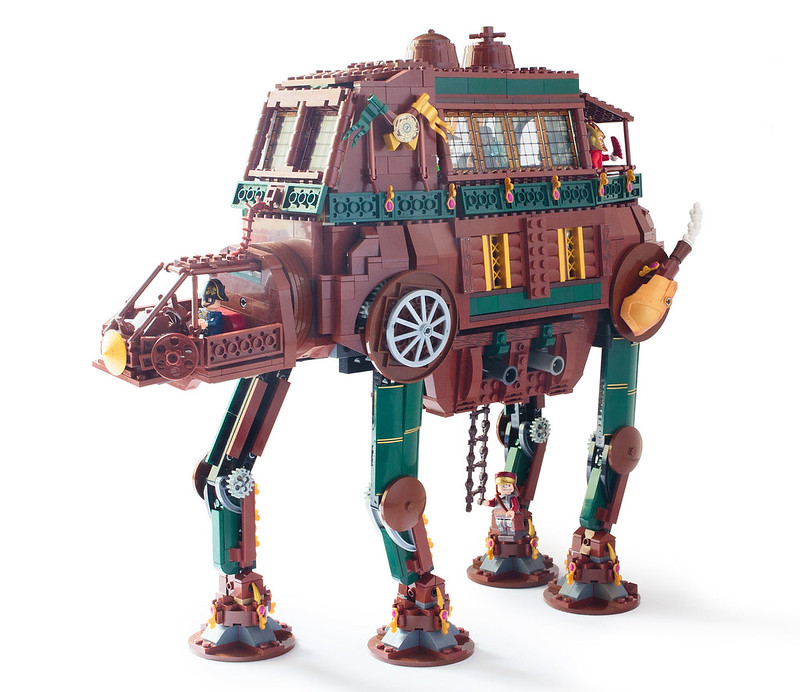 LEGO Star Wars Steampunk | AT-AT: The All Terrain Aristocratic Traveler