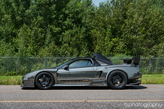 Black chrome Sorcery NSX