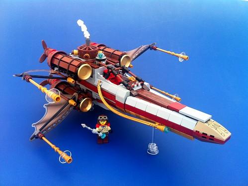 Lúc Carrigan & His Steam-Powered X-Plane