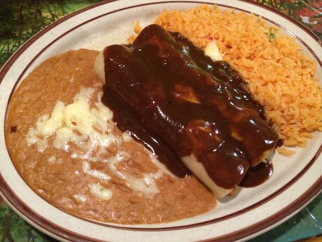 Enchiladas poblanas - Mi Degollado