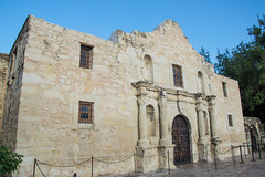 The Alamo - San Antonio - Texas - 09 July 2014