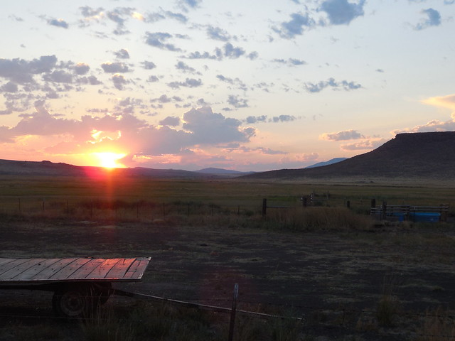 Dawn at Jenkins' Ranch