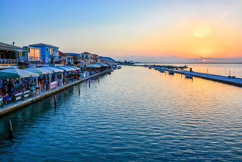 travel blue sunset sea orange sun water island nikon clear greece traveling vacations lefkas ionian lefkada eptanisa scenicsnotjustlandscapes d5200
