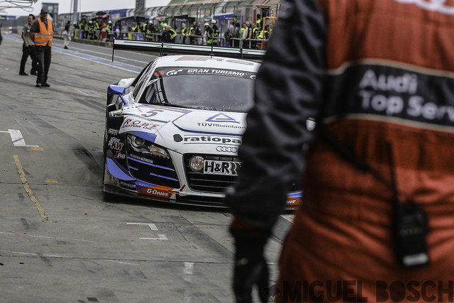 VLN. Round 6 RCM DMV Grenzlandrennen at the Nürburgring 2 August 2014